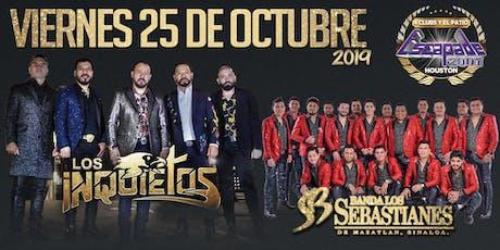 Los Inquietos & Banda Los Sebastianes tickets