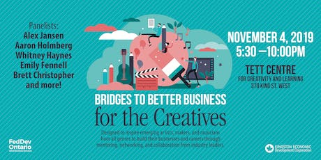 Bridges to Better Business for the Creatives tickets