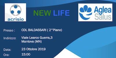 Presentazione aziendale progetto NEWLIFE di AGLEA SALUS MUTUA - Mantova