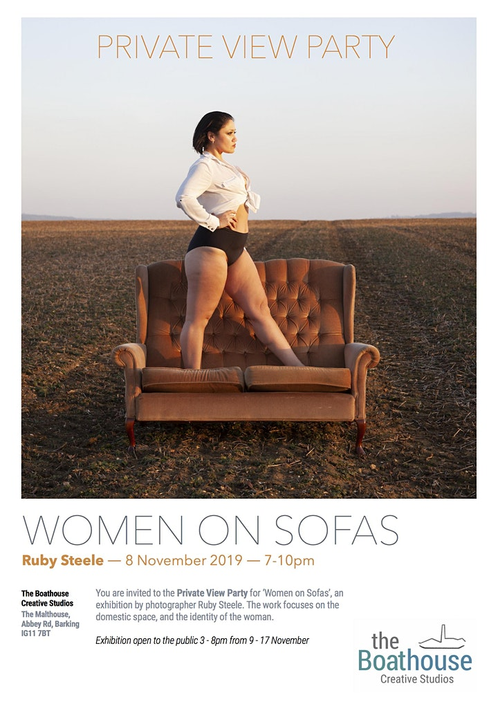 WOMEN ON SOFAS  EXHIBITION LAUNCH  PARTY image