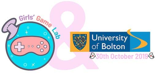 Girls Game Lab Workshop @ University of Bolton