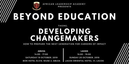 Beyond Education 2019 Conference (Lagos) - Developing Changemakers