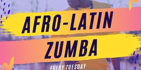 AfroLatin Zumba tickets