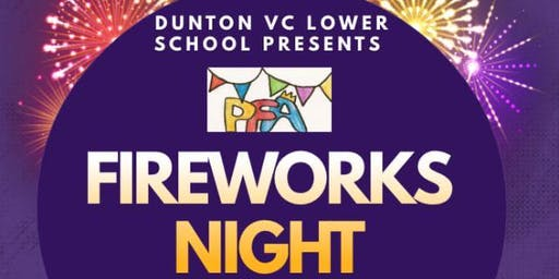 Dunton Lower School Fireworks Night