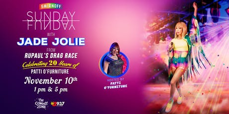 Sunday Funday with JADE JOLIE from RuPaul's Drag Race tickets