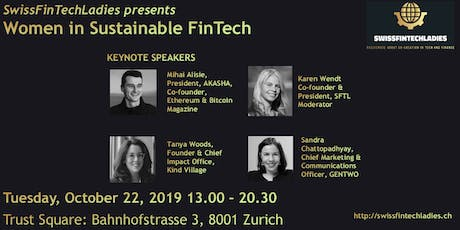Women in Sustainable FinTech - Let's fix the leaky pipeline! tickets