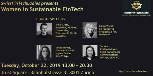 Women in Sustainable FinTech - Let's fix the leaky pipeline!