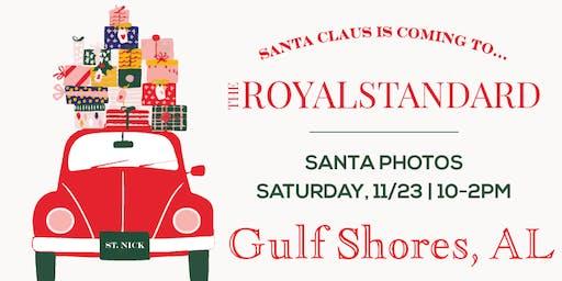 Photos with Santa (Gulf Shores, AL)