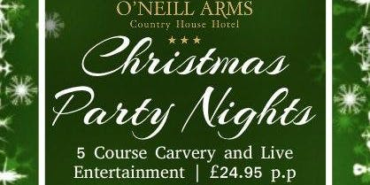 Christmas Party Night at O'Neill Arms Hotel