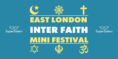 East London Inter Faith mini festival tickets