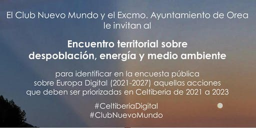 Celtiberia Digital: energía, despoblación y medio ambiente.
