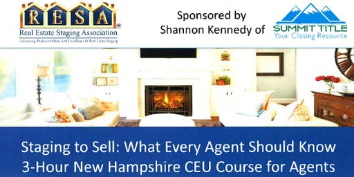 Staging to Sell: What Every Agent Should Know