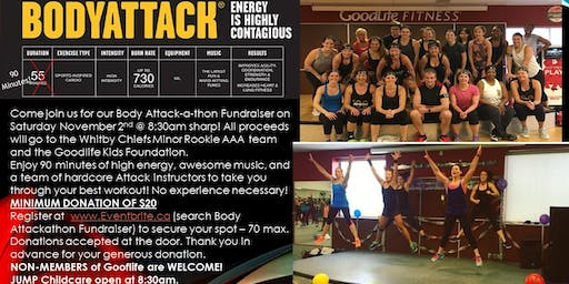 Body Attackathon Fundraiser