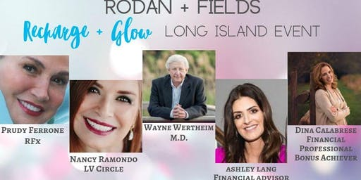 Rodan + Fields - Recharge & Glow Business Event