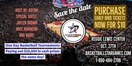 Basketball Star Games - General Admission Early Bird ($10) tickets