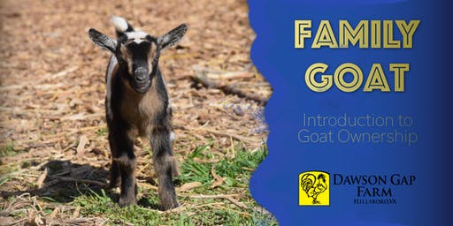 Family Goat Workshop
