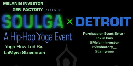 Soulga x Detroit: A Hip Hop Yoga Event tickets