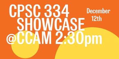 CSPC334 Showcase @ CCAM