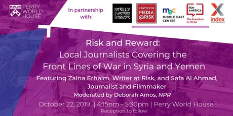 Risk and Reward: Local Journalists Covering the Front Lines of War tickets