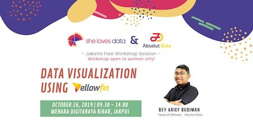SheLovesData Jakarta: Data Visualization Workshop Using YellowFin