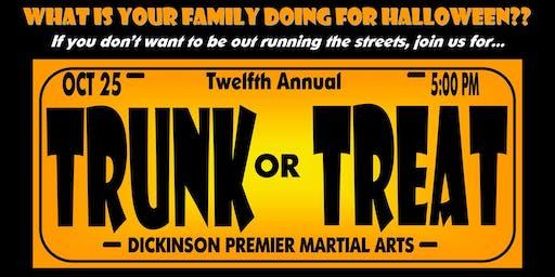 Trunk or Treat at Dickinson PMA!