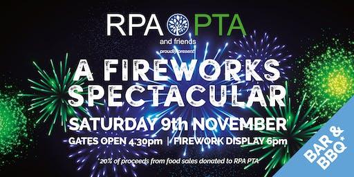 "Richmond Park Academy PTA ""A Fireworks Spectacular 2019"" (RPA Fireworks)"