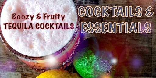 Cocktails & Essentials: Boozy & Fruity Whiskey Cocktails