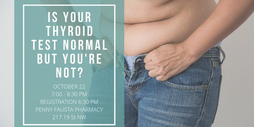 Is Your Thyroid Test Normal But You Are Not?