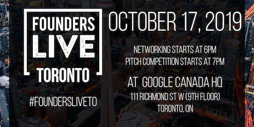 Founders Live Toronto