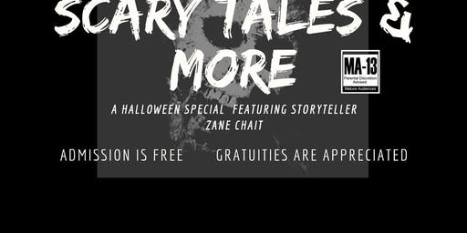 Scary Tales & More -with ZANE CHAIT