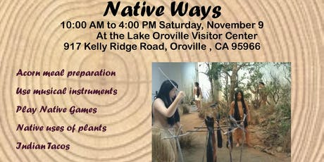 Native Ways tickets