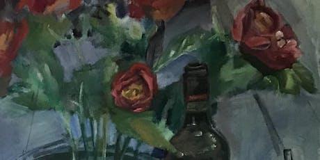 Oil Painting Beginner / Intermediate 4 wk Nov Series w/Geraldine Butler tickets