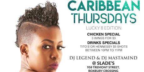 Caribbean Thursdays  tickets