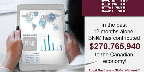 Business Networking by BNI Novascotia- BEDFORD tickets