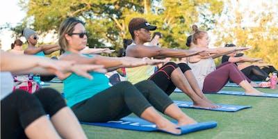 Outdoor Pilates at the Rotunda!