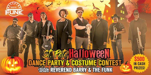 St. Pete Halloween Dance Party & Costume Contest