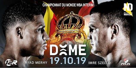 RYAD MERHY - WBA Championship Boxing billets