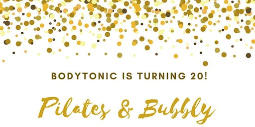 BODYTONIC IS TURNING 20!