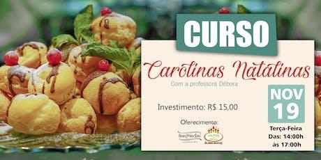 CURSO CAROLINAS NATALINAS ingressos