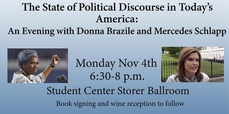 The American Conversation Series: Donna Brazile and Mercedes Schlapp tickets