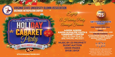 VSUAA Baltimore Annual Holiday Party tickets