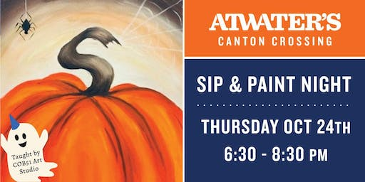 Sip & Paint Night at Atwater's in Canton