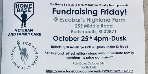 Escobar Farm Corn Maze Charity Friday