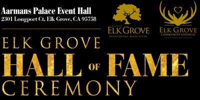 Elk Grove Hall of Fame Induction Ceremony 2019
