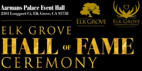 Elk Grove Hall of Fame Induction Ceremony 2019 tickets