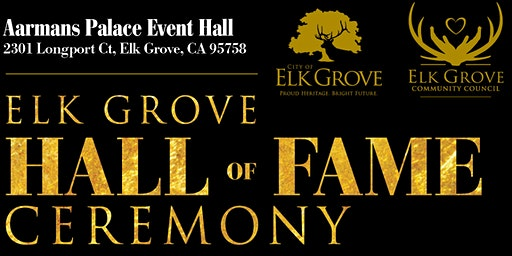 Elk Grove Hall of Fame Induction Ceremony 2020
