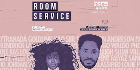 HIDE + SEEK presents Room Service Oct 19 tickets