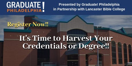 College Information Session - Graduate! Philadelphia - It's Harvest Time tickets