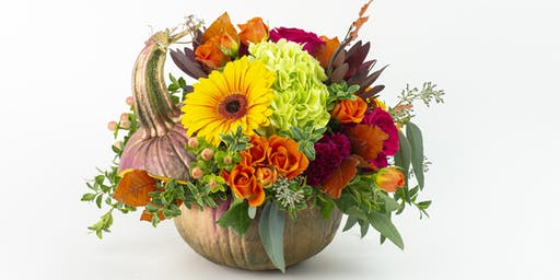 Posh Pumpkin Floral Design Class