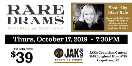 Rare Drams - Whiskies of Scotland Tasting event tickets